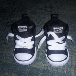 Black Hard Sole Baby Converse